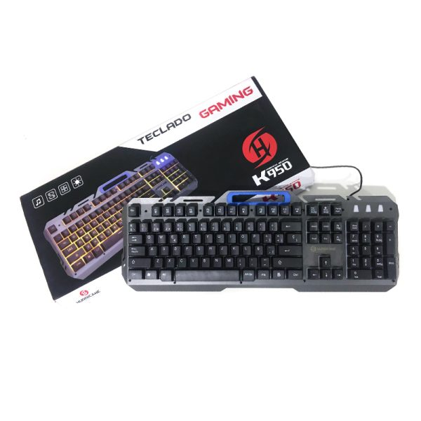 Teclado Gaming Hurricane Crosswind