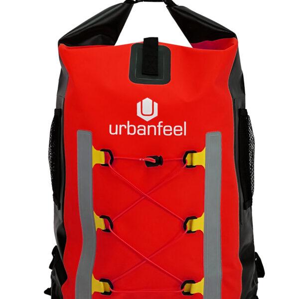 mochila estanca urbanfeel roja