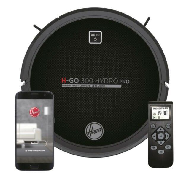 Robot aspirador Hoover H-Go 300 Hidro Pro