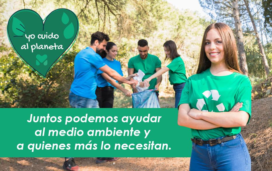 ayuda social y medioambiente