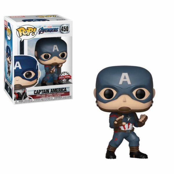 Funko Serie Vengadores - Avengers 100% original CAPITAN AMERICA