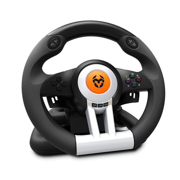 Volante PS4 y XBOX One Krom K-Wheel GamingPS4 Y XBOX KROM (1)