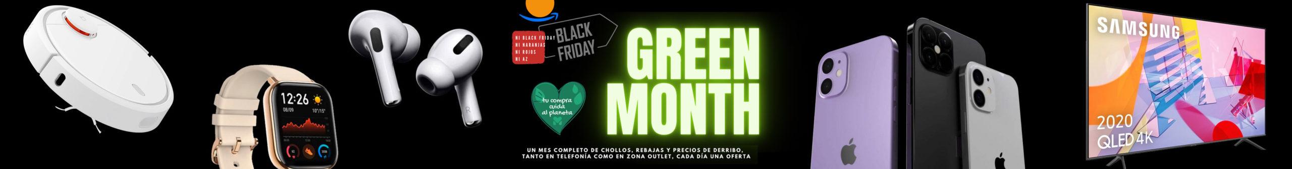 green Month, moviles reacondicionados