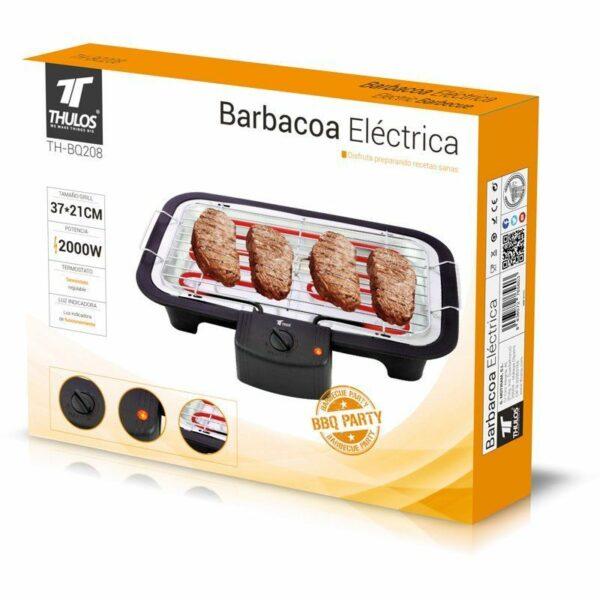 Barbacoa eléctrica de mesa 2000W THULOS TH-BQ208