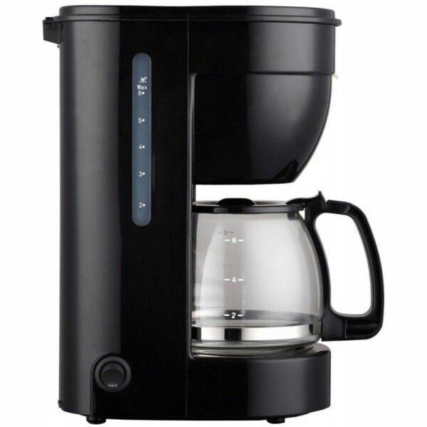 Cafetera eléctrica 0.75l, 6 tazas, jarra de cristal, ERP. THULOS TH-CM750