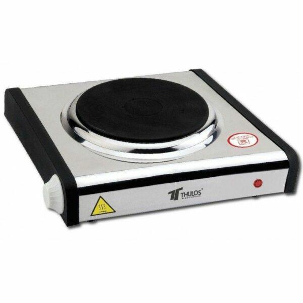 Cocina eléctrica de acero inoxidable THULOS TH-CE1000E/1P