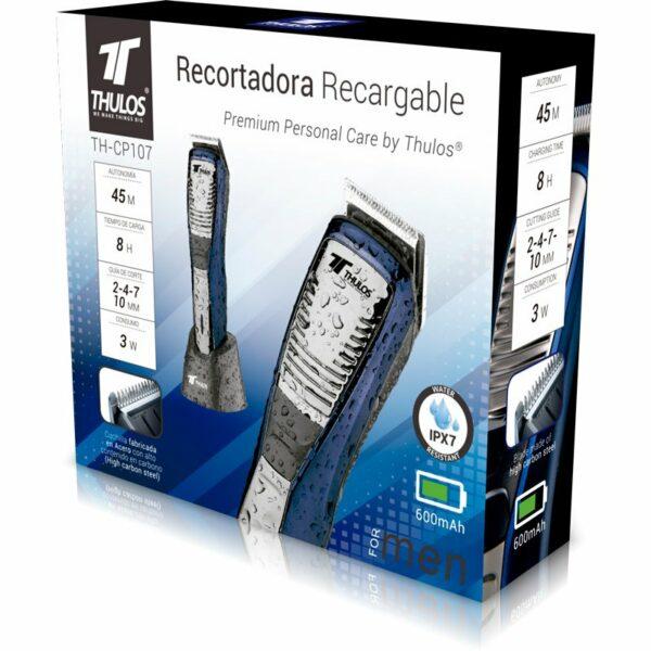 Recortadora de pelo recargable THULOS TH-CP107