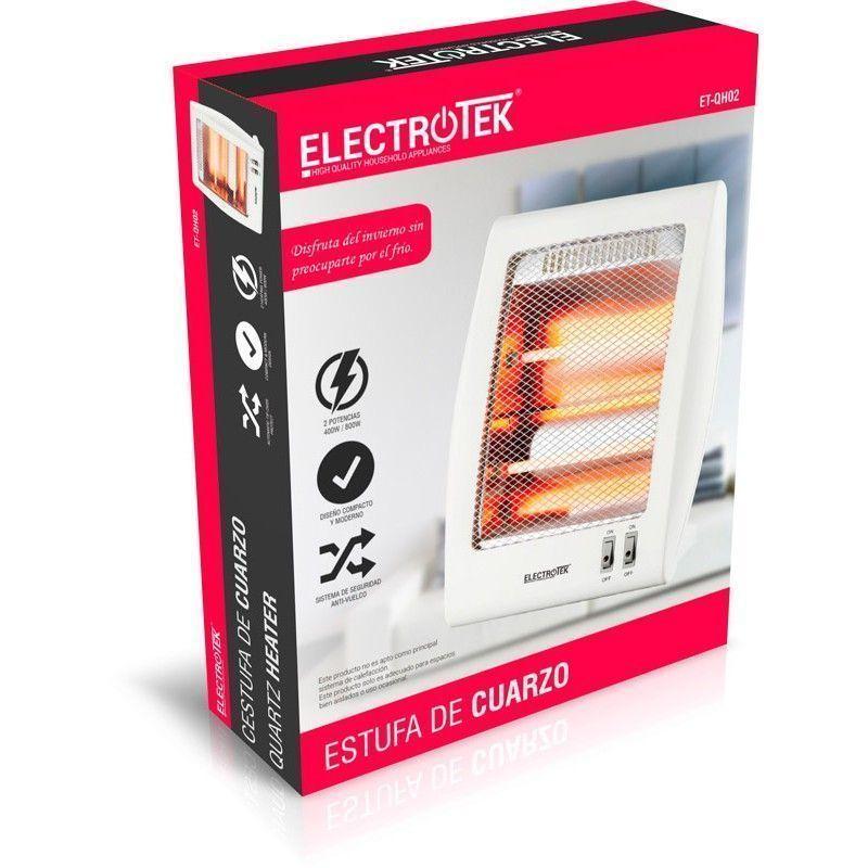 Estufa de cuarzo ELECTROTEK ET-QH02
