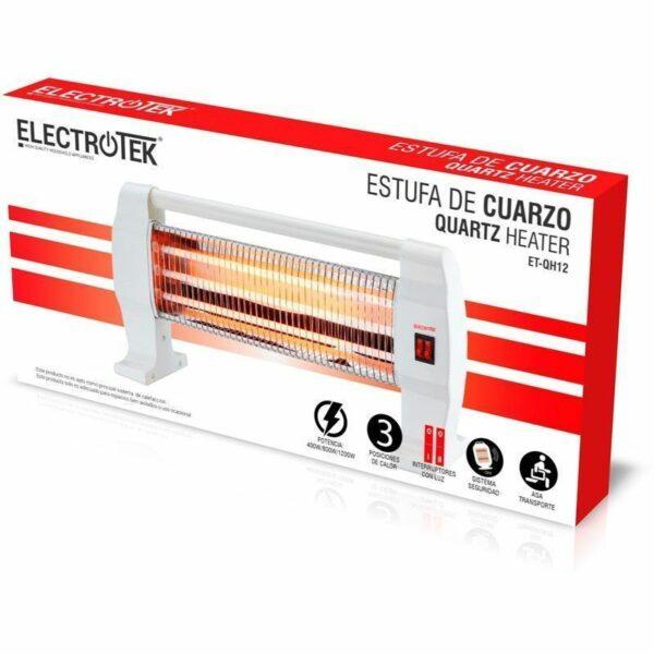 Estufa de cuarzo ELECTROTEK ET-QH12