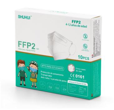 mascarillas ffp2 niños
