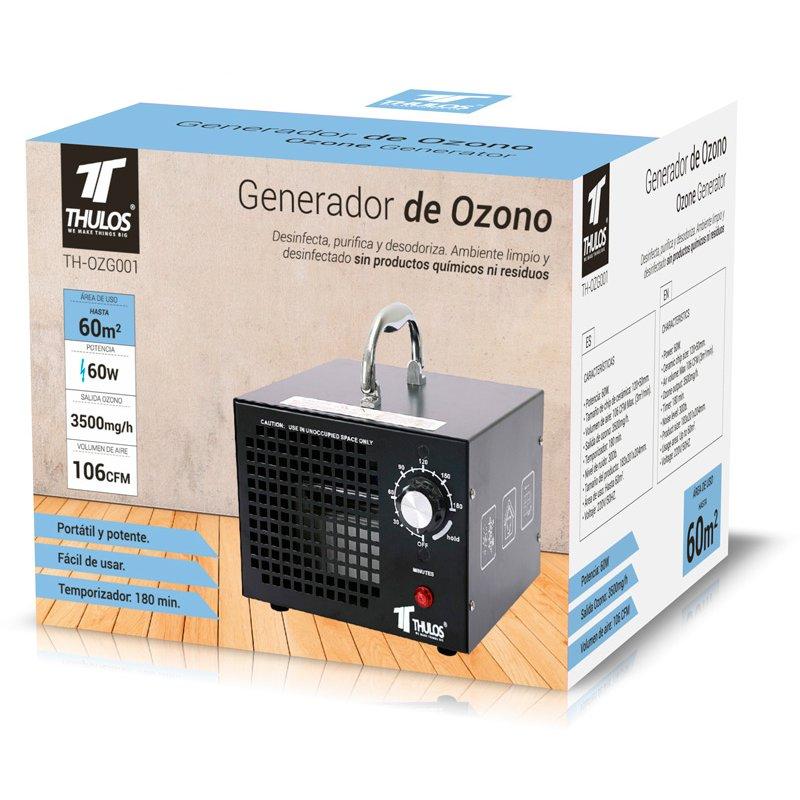 Generador de Ozono 60w