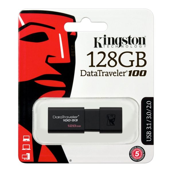 Pendrive Memoria USB Kingston Data Traveler 128GB USB3.0