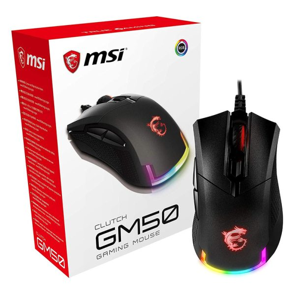 Ratón Gaming MSI CLUTCH GM50 RGB