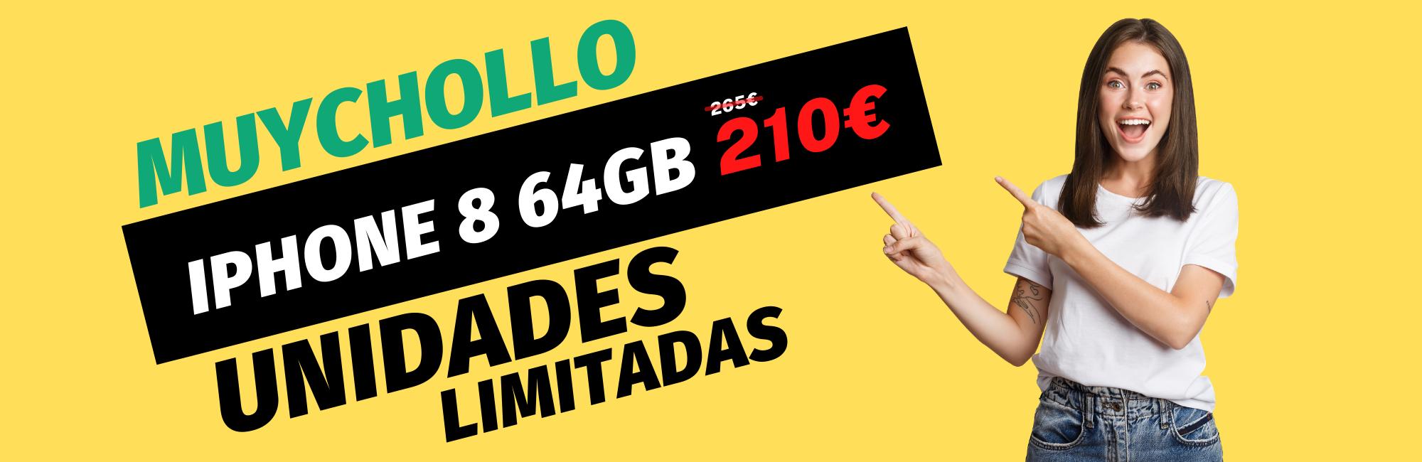 muychollo IPHONE 8 64GB