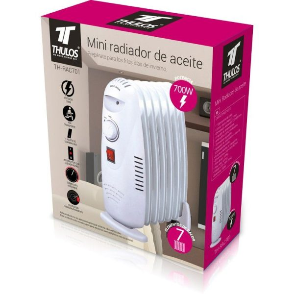 Mini Radiador de Aceite THULOS TH-RAC701