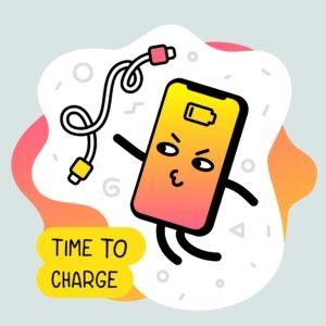 Cargador de telefono, carga rapida